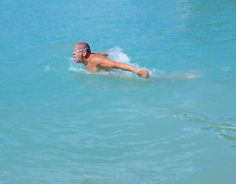 """Check out new work on my @Behance portfolio: """"swimmer on the lake"""" http://on.be.net/1BZWMmw"""