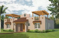 home floor plans adobe house plans are modeled on the pueblos of - South West Adobe Home Plans