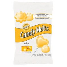 Wilton Candy Melts® Yellow 340g - Chocolade & Candy Melts - Ingrediënten - Wilton - Merken   Deleukstetaartenshop.nl