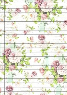 Stationary Printable, Printable Lined Paper, Pretty Writing, Stationery Craft, Scrapbooking, Diy Notebook, Borders For Paper, Bullet Journal Ideas Pages, Journal Stickers