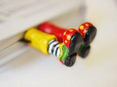 Bendito Lixo - Artesanato Reciclado: Marcadores divertidos