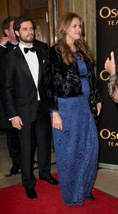 Swedish Prince Carl Philip and Princess Madeleine attends to commemorate H.M. The Queen's 70 birthday at the Oscar Theatre in Stockholm, 19.12.13