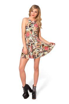 Koi Reversible Skater Dress by Black Milk Clothing $85AUD