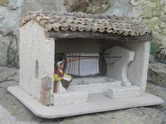 Nouveautée 2013 le lavoir couvert Ceramic Techniques, Pottery Making, Miniture Things, Diorama, Nativity, Ceramics, Outdoor Decor, 2013, Home Decor
