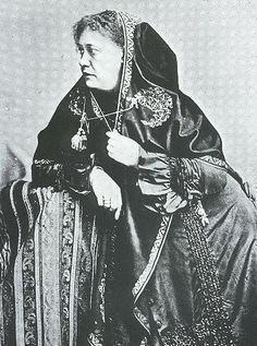 """Madame Blavatsky, """"The Path that leadeth on is lighted by one fire - the light of daring burning in the heart. The more one dares, the more s/he shall obtain."""""""