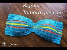 Cropped de Crochê | Flor vasada | Professora Simone Eleotério | TAM PP P M G GG - YouTube