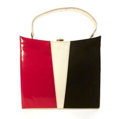 '60s Color-Block Day Bag