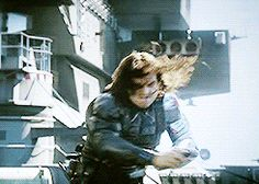 Bucky looked so sexy af when he did this