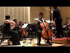 DePaul Concerto Festival - Haddon Kay performs Elgar Cello ... Cello, Music Instruments, Cellos, Musical Instruments