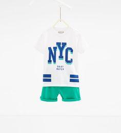 'NYC' 2피스 세트