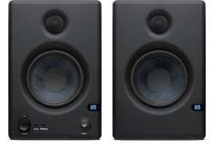PreSonus Eris E4.5 High-Definition Active Studio Monitors: The PreSonus powered monitors deliver impressive performance for the price. On the back panel, you'll even find EQ adjustments for tuning them to your room.