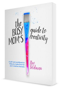 Book Cover Design, the Busy Mom's Guide to Creativity by Finicky Designs
