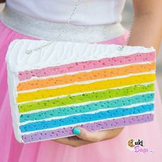 Let them 'wear' CAKE! #cukibags#custombag#CAKE#cakepurse#cakebag#rainbow#ilovecake#ilovehandmade#ilovechocolate#handmade#purse#purses#chocolatecake#summer#cutepurse#insta#instafun#statement#sweettooth#cute#unique#rainbow#rainbowcakes#ilovecake #rainbowcake#instafood#instafoodie#crafttherainbow