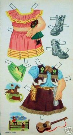 circa 1950's Vintage 13 Paper Doll - MaryAnn - Picasa Web Albums
