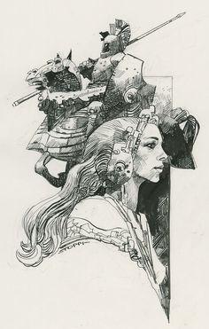 Illustration Comic Art