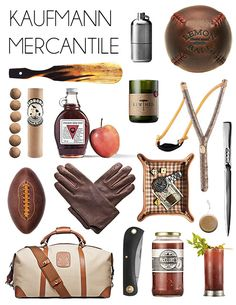 The Best Gifts for Men...Local maple syrup, pocket knives would be good products to sell and could be used in gift baskets.