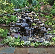 Pondless Waterfall Water features Pond and Water