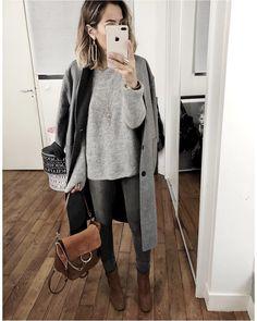 """4,780 mentions J'aime, 53 commentaires - Audrey (@audreylombard) sur Instagram : """"Le toc du manteau long • Manteau réversible / Coat #shopaudreylbd (on @shopaudreylbd), • Pull…"""""""