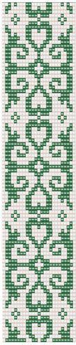 Bead loom arabian pattern Loom bracelet pattern