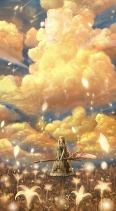The Art Of Animation, 防人  She waved her wand and then stood and watched, as the sky began to fall.
