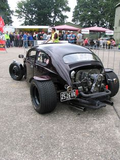 Modified Beetle hot rod at VolkStyle Base 2013 Photo 8328