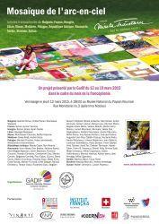 MOSAIQUE DE L'ARC-EN-CIEL - Expozitie de arta contemporana, 12 - 19 martie 2015 la Muzeul National al Taranului Roman