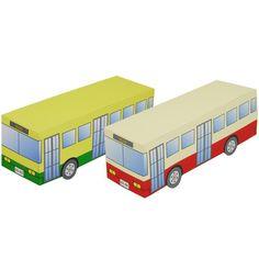 Автобус,Игрушки,Поделки из бумаги,транспорт,работающий транспорт,автобус,городок