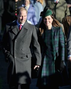 Another stunning outfit on Kate holding hands with William .