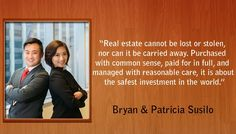 Bryan and Patricia Artawijaya Susilo runs a small land business providing fast-money solutions to sellers of worn-down property and properties in need of imperative sale. Safe Investments, Property Investor, Real Estate Business, Investing, Father, Profile, Age, Facebook, Vehicles