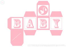 Use these baby shower building blocks as favour boxes at your next baby shower or use a gift box for a new arrival or simply use them as decoration!