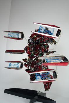 MG new gundam ver. ka open hatch and red coloring by Kipok, Nam (Korea)  http://www.signaturediton.com