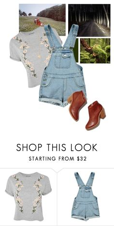 """Trying Out New Layouts"" by thesecretfightersoffashion ❤ liked on Polyvore featuring Topshop, Boohoo and Jennifer Zeuner"