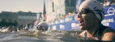 Cecilia beim Schwimmen: Die alleinerziehende Mutter nutzt das Training, um Zeit für sich zu haben