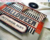 HOT HOT SUMMER Halloween Primitive Greeting card Blank by Vampiregothchick Goth Dark Romantic