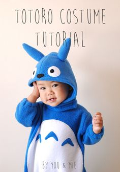 Hello!! I'm here with a tutorial today that I'm really excited about! 3 years ago, I made a Totoro costume for Yuki and it was a huge hit with Totoro fans around the world. Since the…