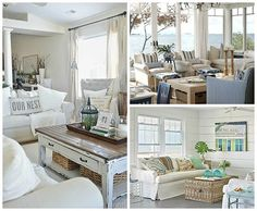 how to create beach cottage chic decor, home decor, painted furniture, repurposing upcycling, rustic furniture, Beach Tones