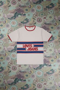Levi's Vintage Clothing: Orange Tab The 1970's Sports Tee