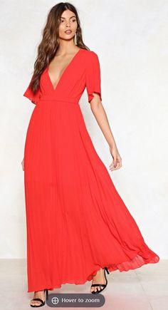 45c777440eaab $45 Mismatched Bridesmaid Dresses, Bridesmaids, Orange Dress, One Moment,  Plunging V Neck