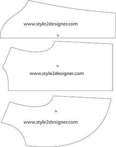 Moda Modelo CAD está realizando - libre del patrón de costura Descargar: Mujeres chaqueta del bolero patrón de corte