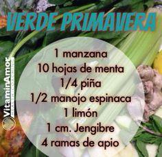Jugo Detox #VitaminAmor