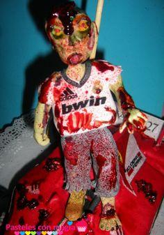 tarta zombie - cake zombie