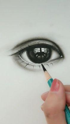 Art Drawings Beautiful, Art Drawings For Kids, Art Drawings Sketches Simple, Pencil Art Drawings, Realistic Drawings, 3d Art Drawing, Eye Drawings, Amazing Drawings, Cool Drawings
