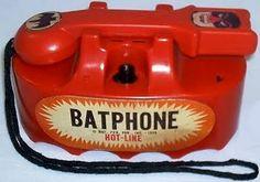 Old toy bat phone by Marx toys Batman 1966, Batman And Superman, Batman Robin, Batman Stuff, Vintage Phones, Vintage Telephone, Vintage Toys, Vintage Labels, 1960s Toys