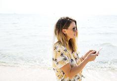 #attractive #beach #beautiful #bright #brunette #eyewear #female #girl #idyllic #lady #leisure #model #ocean #photoshoot #scenic #sea #side view #sunglasses #texting #waves
