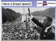 ⌛️28 août 1963 : I have a dream est à la fois le nom du discours le plus célèbre de Martin Luther King et le point d'orgue du Mouvement des droits civiques aux États-Unis.