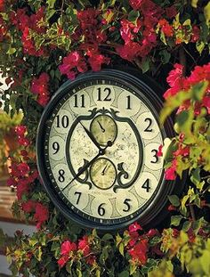 Keep track of time while enjoying your outdoor space with the Lavina Outdoor Clock, a sleek and stylish design accessory.