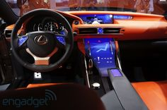 Lexus LF-CC Concept shows the future of touchscreen interiors -- Engadget