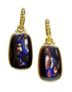 boulder opals, Julie Rauschenberger