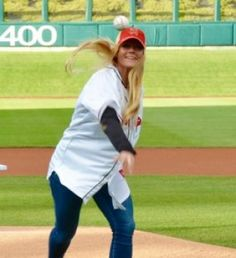 Holly Holm Night at Isotopes Park Holly Holm, Daughter, Park, Night, Style, Swag, Parks, My Daughter, Daughters