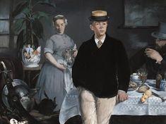 Déjeuner dans l'Atelier, par Édouard Manet